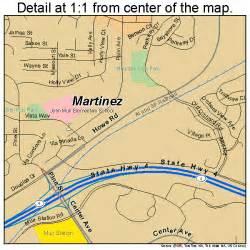 martinez california map 0646114