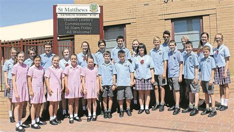 Matthew St S College Mba by St Matt S Commissions 2014 Leaders Mudgee Guardian
