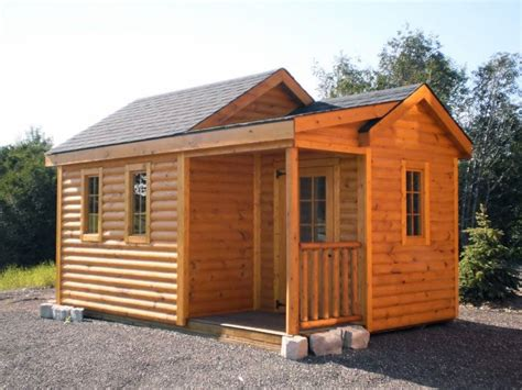 Storage Sheds Ta by Prefab Sheds Mn Mighty Cabana Mc1216gl Cabin With Porch