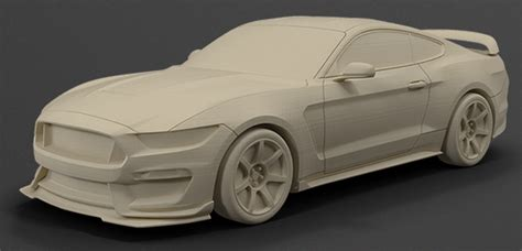 Auto Modell by Ford Launches 3d Printed Model Car Shop Print