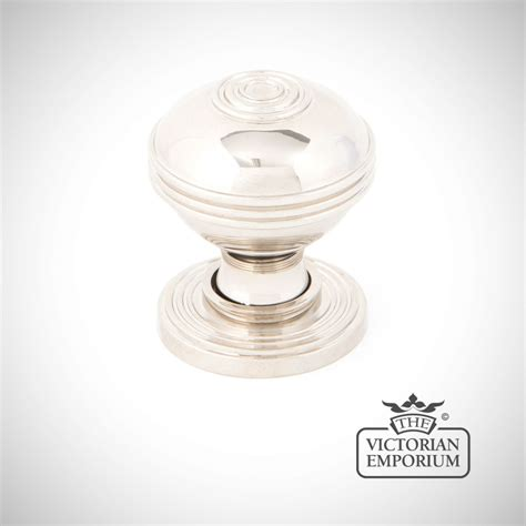 Door Knob Size by Pressbury Cabinet Knob In Polished Nickel In A Choice Of 2 Sizes Knobs