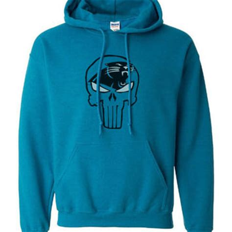 Hoodie Punisher Custom Ken21 best carolina panthers sweatshirt products on wanelo