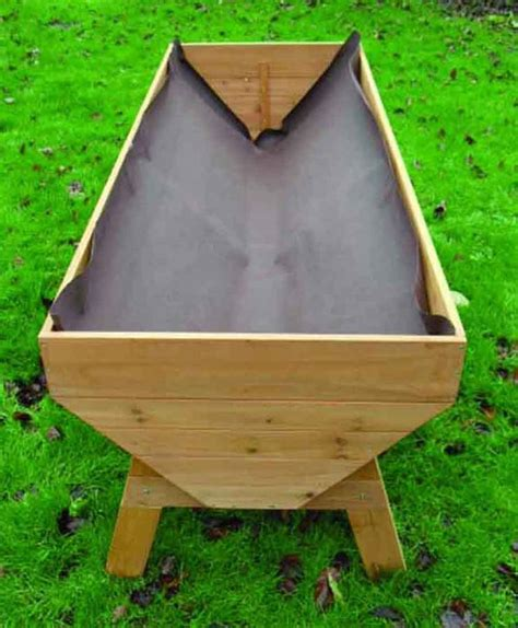 vegetable beds veg trough large raised vegetable bed by garden selections