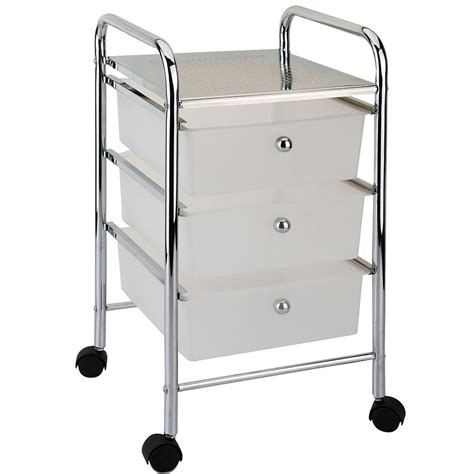 Drawer Trolley by 3 Drawer Trolley White Lassic Everything For Your Home