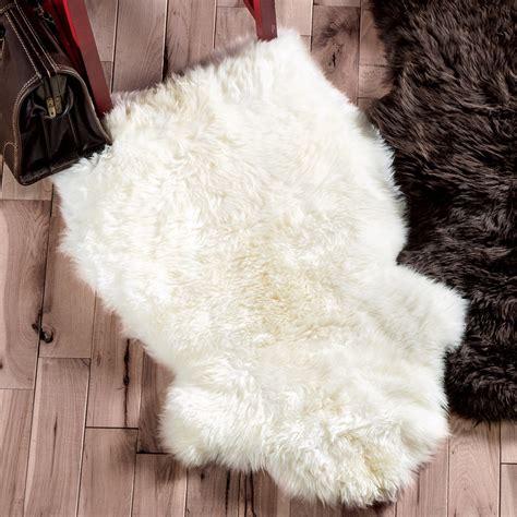 Ivory Sheepskin Rug by Southwest Rugs Ivory Small Sheepskin Rug Lone Western Decor