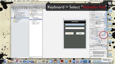 xcode tutorial calculator xcode 4 iphone sdk tutorial create a calculator part1
