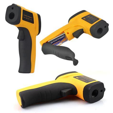 Jual Digital Laser Infrared Thermometer Gun Alat Pengukur Suhu Benda jual 50c 380c digital infrared thermometer laser gun