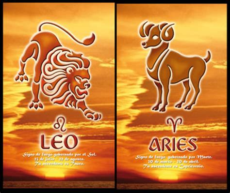 leo and aries compatibility relationship