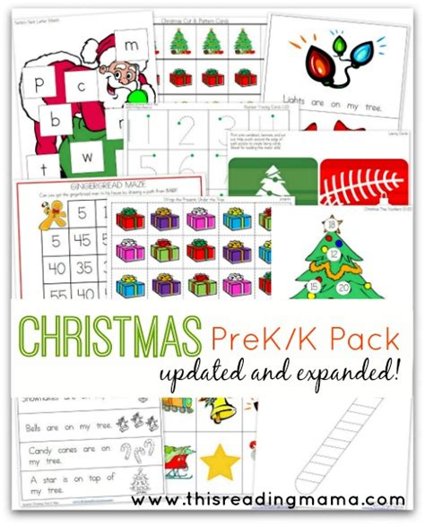 printable christmas party games pack download free prek k pack updated and expanded