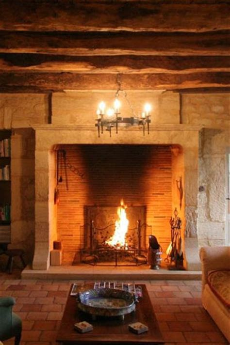 15 fireplaces so large so grand you can almost walk