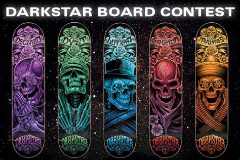 Darkstar Tech Decks by Thrasher Skateboard Magazine Darkstar Board Contest