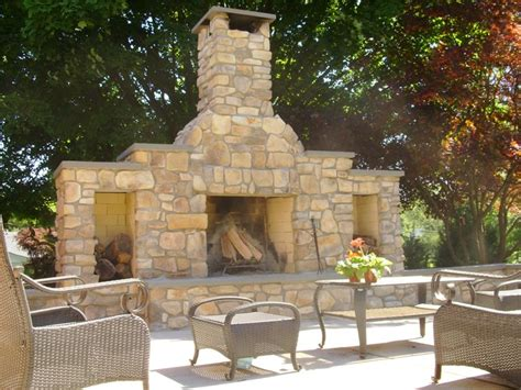 outdoor fireplace severn md photo gallery