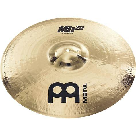meinl mb20 heavy bell ride cymbal musician s friend