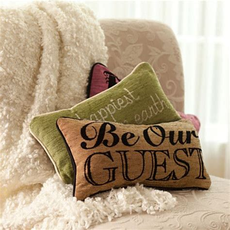 Disney Be Our Guest Pillow by And The Beast Pillow Be Our Guest Home