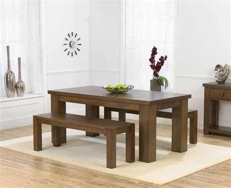 palermo oak 180cm dining table 2 benches