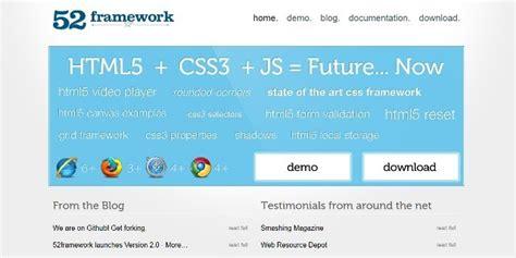 html responsive design framework 10 responsive html5 frameworks 2015 webprecis