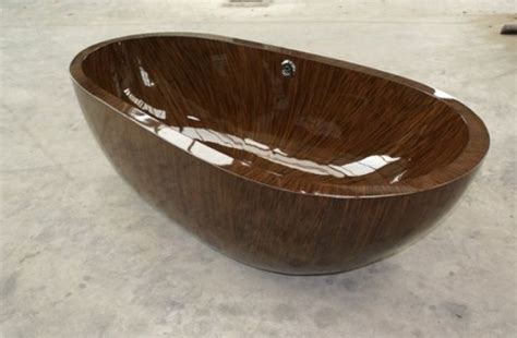 pearl bathtub wooden bathtubs giving that rustic feel to your bathroom