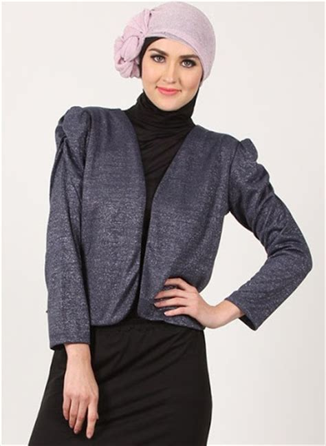 Blazer Muslimah 21 model blazer wanita muslimah modern terbaru 2017 2018