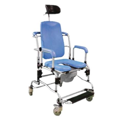 reclining commode chair provider deluge reclining commode shower chair rolling