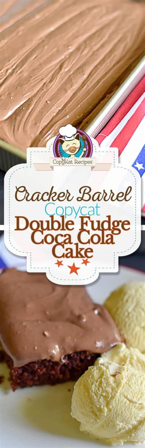 cracker barrel chocolate coke cake recipe chocolate fudge coca cola cake calories