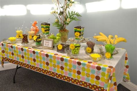 jungle theme baby shower table decorations the world s catalog of ideas