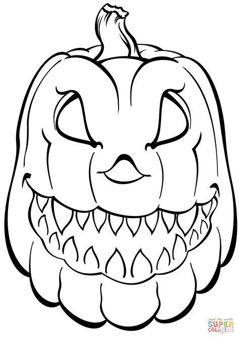 Halloween Pumpkin Coloring Page Life | halloween pumpkin coloring pages ebestbuyvn co