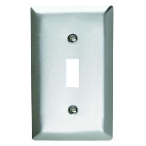 pass seymour 1 1 toggle wall plate stainless