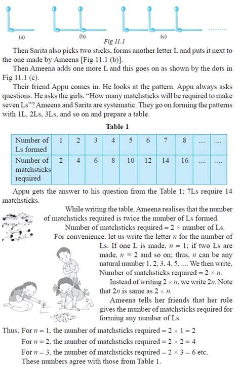 grading pattern in cbse cbse class 6 maths algebra worksheets class 6 math cbse