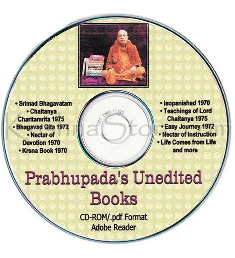 Pdf The Book Of Cd by Srila Prabhupada Ebooks Pdf Format Original Books Cd