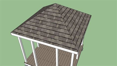 How To Build A 4 Sided Roof How To Build A Gazebo Howtospecialist How To Build