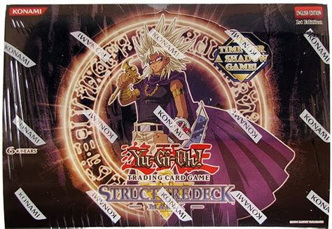 yugioh structure deck marik yu gi oh marik structure deck box da card world