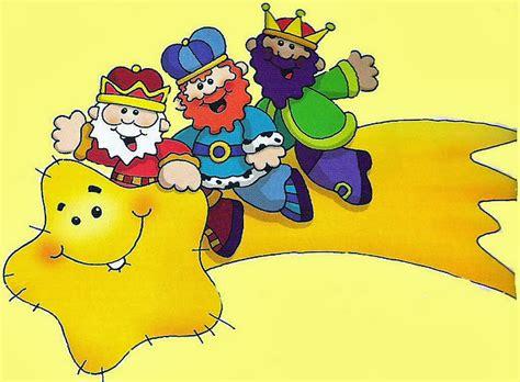imagenes reyes magos animadas maestra de primaria dibujos de los reyes magos para