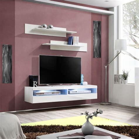 Délicieux Meuble Bibliotheque Fly #4: meuble-tv-mural-design-fly-iv-160cm-blanc.jpg