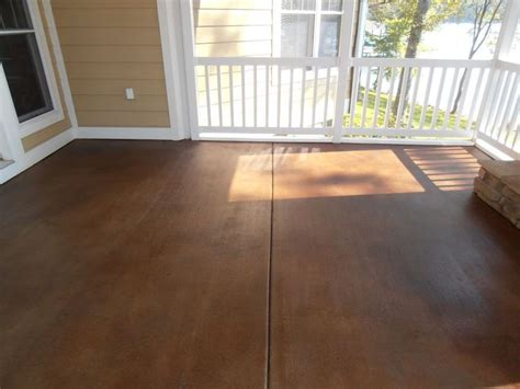 outdoor concrete stain stained concrete ideas for