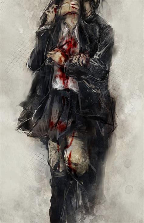 wallpaper girl killing boy 602 best dark anime images on pinterest anime guys