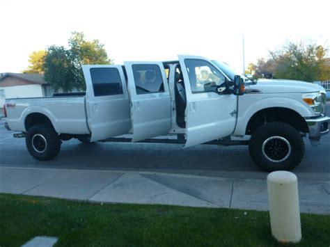 ford truck seats 6 2012 ford f350 custom 6 door truck 4x4 diesel 12 six dr