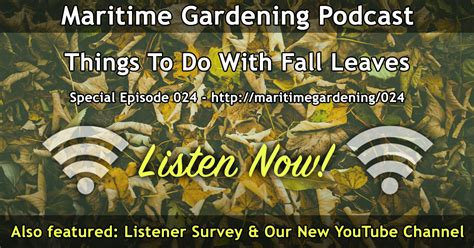 Gardening Podcast by Maritimegardening A Free Audio Podcast For Gardening