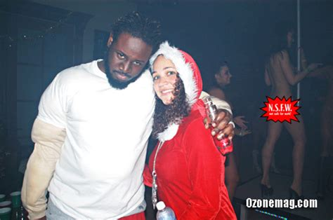 t pain and wife t pain and his wife amber throw christmas party at their