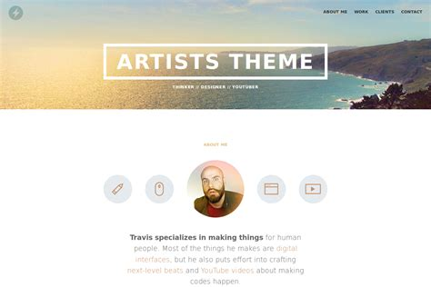 hugo themes github github digitalcraftsman hugo artists theme port of