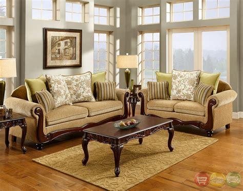 traditional living room set banstead traditional wheat living room set with pillows sm7690