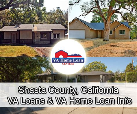 shasta county california va loans homes for sale