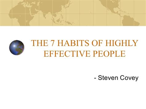 The 7 Habits Of Highly Effective By Stephen Covey Animated And Explained Dailyzen A Summary The 7 Habits Of Highly Effective Stephen Covey