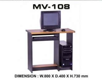 Meja Komputer Vip jual meja komputer murah di jakarta furniture kantor