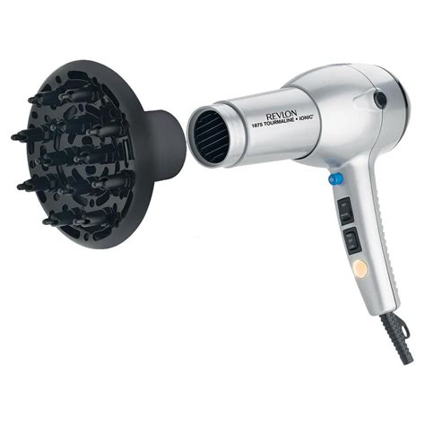 Hair Dryer Grooming revlon 1875 watt tourmaline ionic lightweight hair dryer