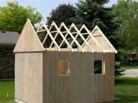 How To Build A Mini Shed by Building A Carriage House Small Barn Shed