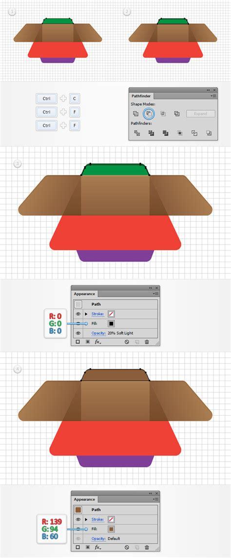 adobe illustrator quick tutorial quick tip create a simple open box icon in adobe