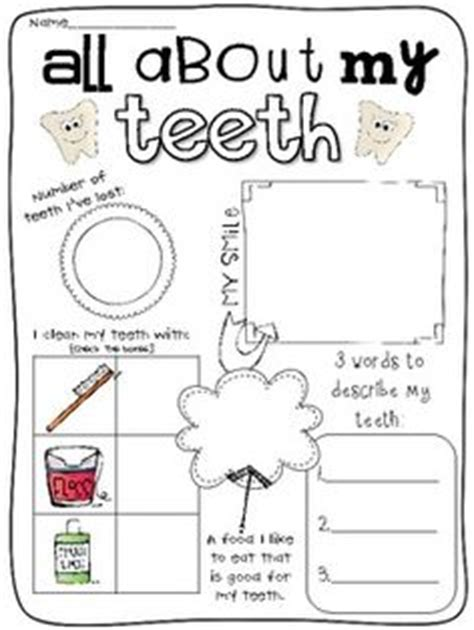 Dental Health Worksheets by The World S Catalogue Of Ideas