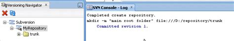 svn console using junit ant and hudson for continuous integration