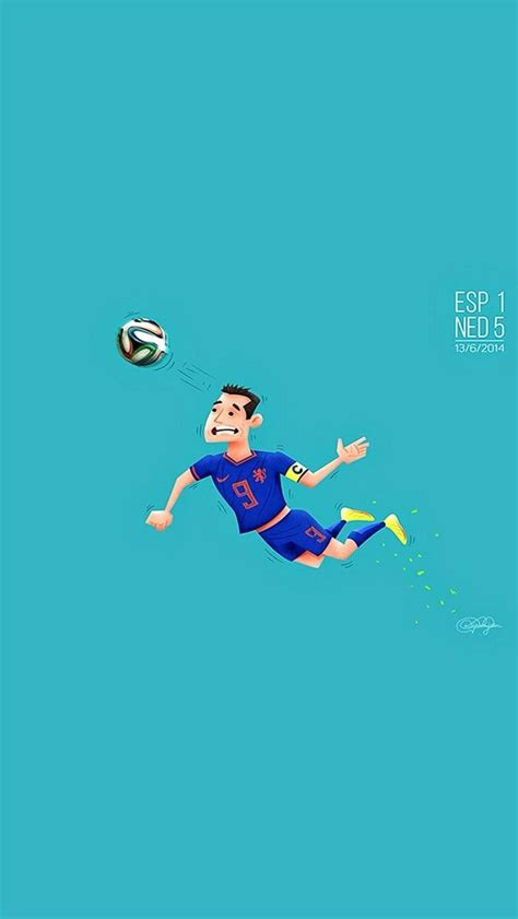 wallpaper iphone football the flying dutchman worldcup football cartoon fanart