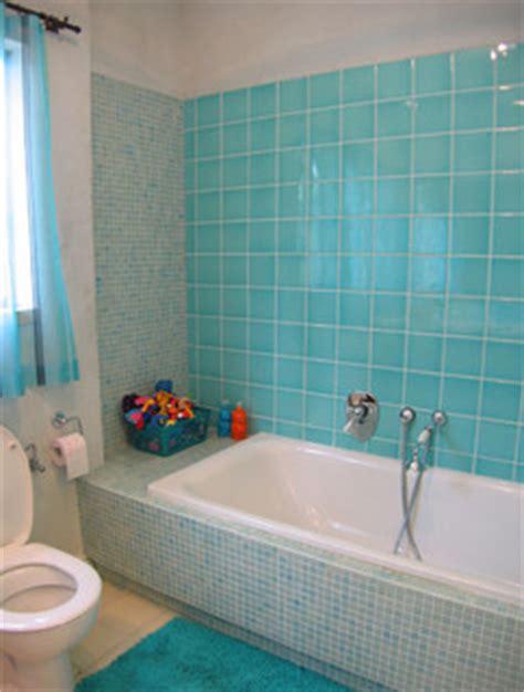 turquoise bathroom mediterranean bathroom